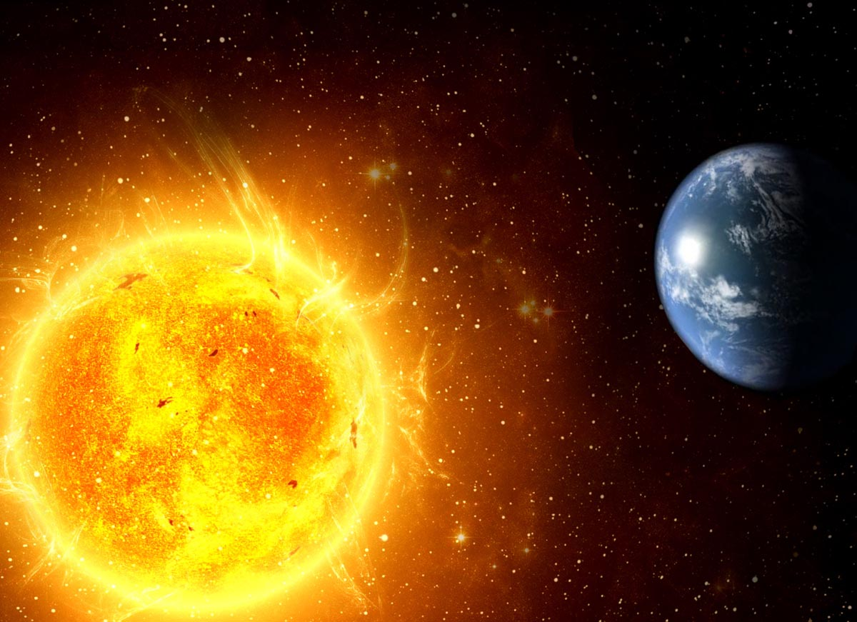 Sun Heats Earth On One Hemisphere Only